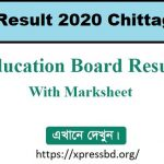 SSC Result 2020 | Chittagong Board 2020 With Full Marksheet Download
