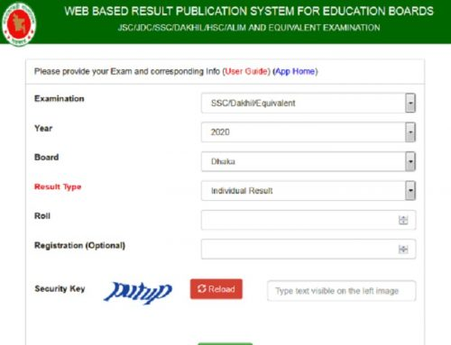 SSC Result 2021 of All Education Board with Total Mark Sheet