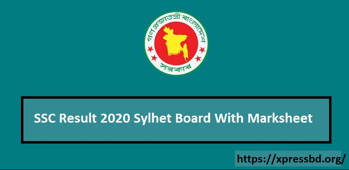SSC Result 2020 Sylhet Board With Full Marksheet