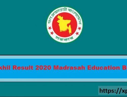 Dakhil Result 2020 Madrasah Education Board