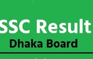 SSC Result Dhaka Board With Full Marksheet